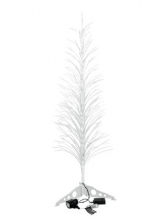 EUROPALMS Design-Baum mit LED cw 155cm