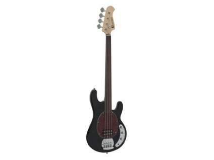 DIMAVERY MM-501 E-Bass, fretless, schwarz