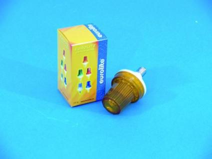 EUROLITE Strobe für E-14 Fassung, gelb