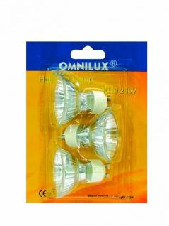 OMNILUX GU-10 230V/50W 1500h 25° Blister 3x
