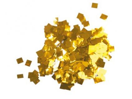 TCM FX Metallic Konfetti Regentropfen 6x6mm, gold, 1kg