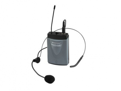 OMNITRONIC WAMS-65BT Taschensender inkl. Headset