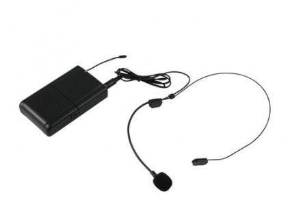 Omnitronic Wams-10bt Taschensender Mit Headset - Vorschau