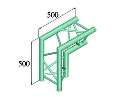 Alutruss Trilock 6082ac-25 2-weg-ecke 90° / - Vorschau 2