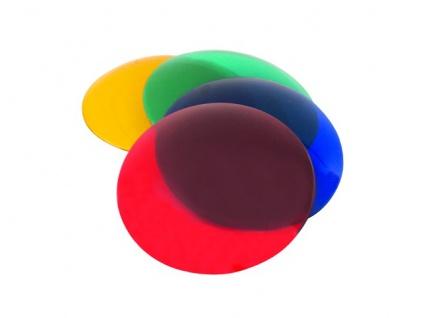 EUROLITE Farbkappe für PAR-36, 4 Farben im Set