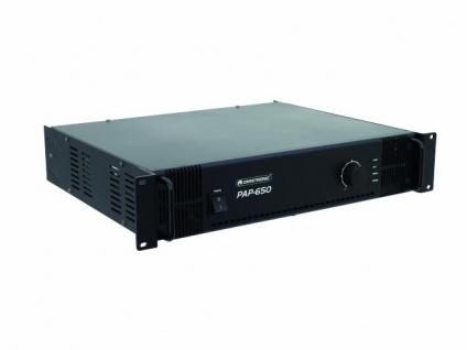 OMNITRONIC PAP-650 ELA-Verstärker