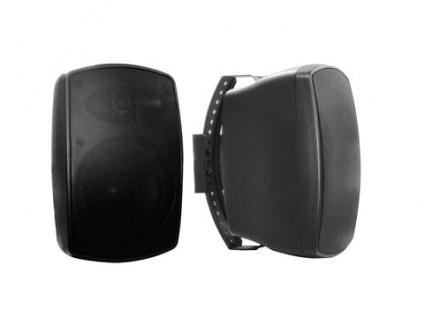 OMNITRONIC OD-5T Wandlautsprecher 100V schwarz 2x