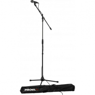 Proel Kit PSE2 inkl. Stand, Mikrofon, Kabel und Tasche