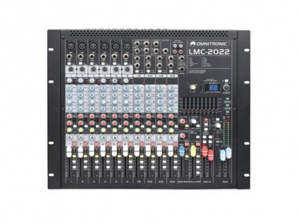 OMNITRONIC LMC-2022FX USB Mischpult