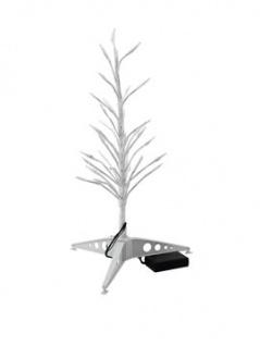 EUROPALMS Design-Baum mit LED ww 40cm für Batterie