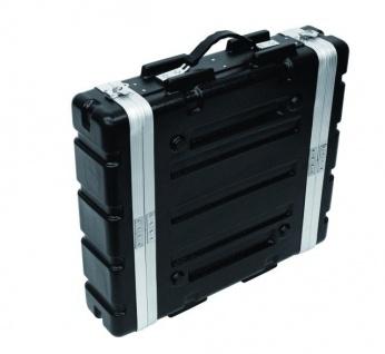 ROADINGER Kunststoff-Rack KR-19, 2HE, DD, schwarz