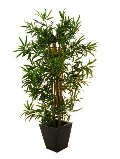 EUROPALMS Bambus Multistamm, Kunstpflanze, 150cm