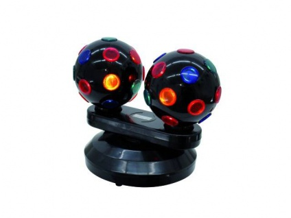 EUROLITE Mini Double Ball Strahleneffekt