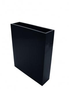 EUROPALMS LEICHTSIN CUBE-100, schwarz, glänzend