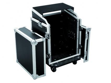 ROADINGER Spezial-Kombi-Case LS5 Laptop-Rack, 12HE
