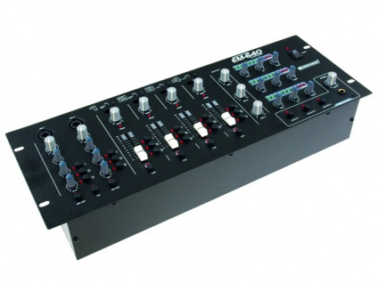 OMNITRONIC EM-640B Entertainment-Mixer