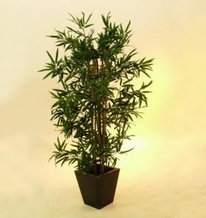 EUROPALMS Bambus Multistamm, Kunstpflanze, 150cm - Vorschau 2