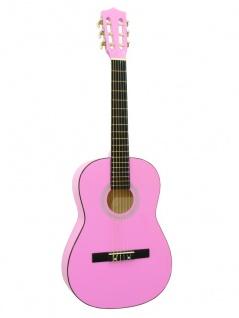 DIMAVERY AC-303 Klassikgitarre 3/4, pink