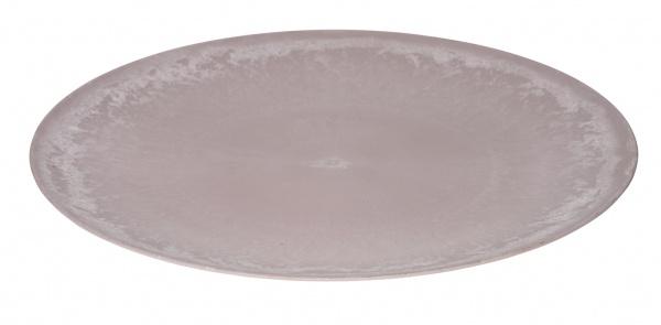 Kunststoffteller, rund, rosa, ? 40cm / Höhe: 2 cm