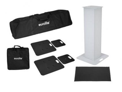 EUROLITE 2x Stage Stand 100cm inkl. Cover und Tasche, schwarz