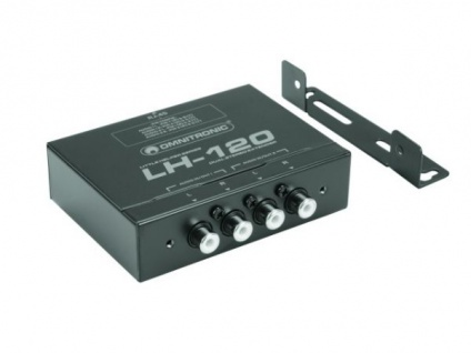 OMNITRONIC LH-120 Dual-Stereo-Umsetzer