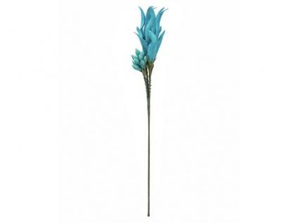 EUROPALMS Magic Yucca Zweig (EVA), türkis, 105cm