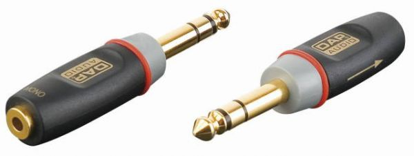 3p Jack male/ 2p mini-Jack F adapter