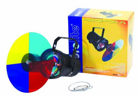 EUROLITE Farbwechslerset + PAR-36 Pinspot