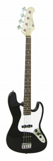DIMAVERY JB-302 E-Bass, schwarz