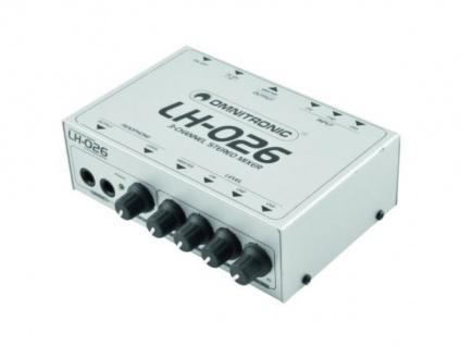 Omnitronic Lh-026 3-kanal-stereo-mixer - Vorschau 2