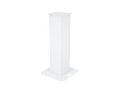 EUROLITE Wechselcover für Stage Stand Set 100cm weiß