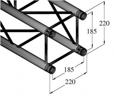 Alutruss Decolock Dq4-2000 4-punkt-traverse - Vorschau 2