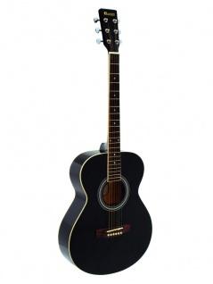 DIMAVERY AW-303 Westerngitarre schwarz