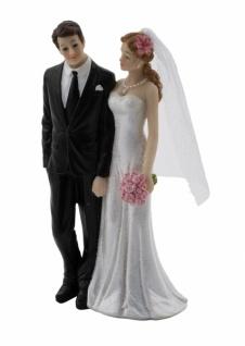 Brautpaar, Kunststoff 8, 2x5cm / 6x15, 8cm