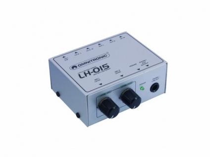 OMNITRONIC LH-015 2-Kanal Mic-Line-Mixer