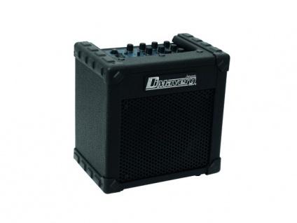 DIMAVERY Deluxe-1 E-Gitarren-Amp 10W sw