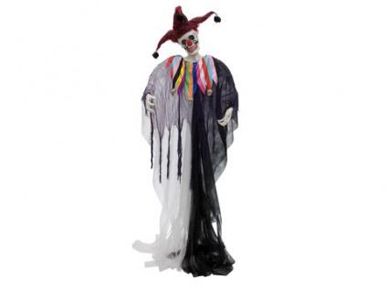 EUROPALMS Halloween Figur Harlekin, 210cm