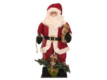 EUROPALMS Santa, aufblasbar mit integrierter Pumpe, 190cm