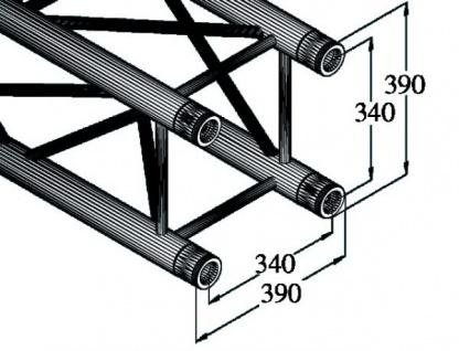 Alutruss Quadlock Tq390-500 4-punkt-traverse - Vorschau 2