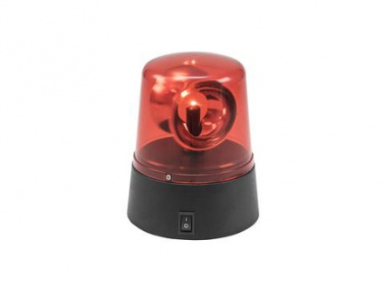 EUROLITE LED Mini-Polizeilicht rot USB/Batterie