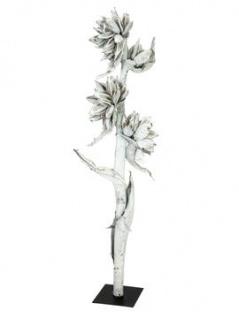 EUROPALMS Sororoca Zweig weiß 150-180cm