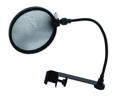 OMNITRONIC Mikrofon-Popfilter schwarz