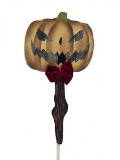 EUROPALMS Halloween Bodenstecker Kürbis