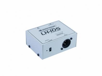 OMNITRONIC LH-105 MIC-Splitter/Combiner