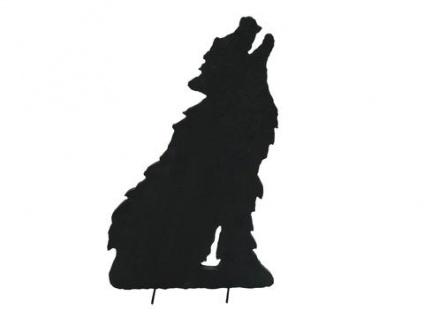 EUROPALMS Silhouette Wolf, 63cm