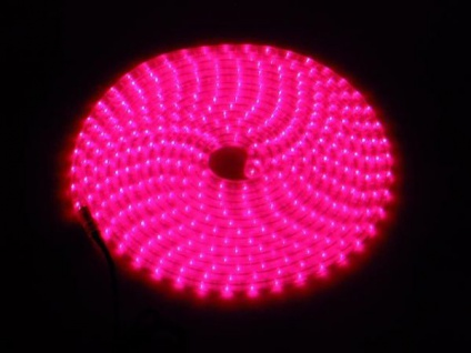 Eurolite Rubberlight Rl1-230v Rot 5m - Vorschau 3