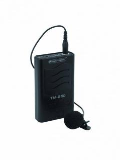 OMNITRONIC TM-250 Gürtelsender VHF174.100