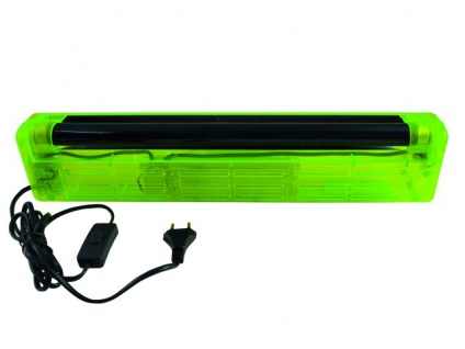 EUROLITE UV-Röhre Komplettset 45cm 15W ABS grün