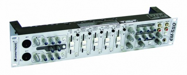 OMNITRONIC EM-550 Entertainment-Mixer