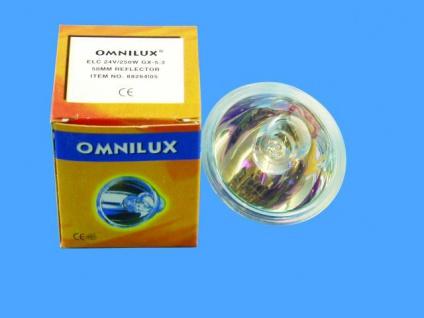 OMNILUX ELC 24V/250W GX-5, 3 500h 50mm Reflektor